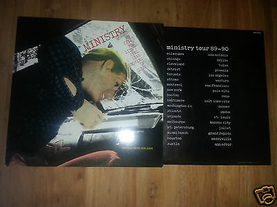 Ministry - In Case You Didn't Feel Like ... - RARE 1st Press Vinyl 1990 *MINT-*