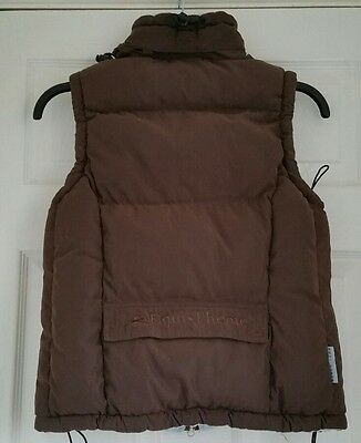 EQUI-THEME Brown Padded Riding Hooded Body Warmer, Fleece Lined, Age 12, 152cm