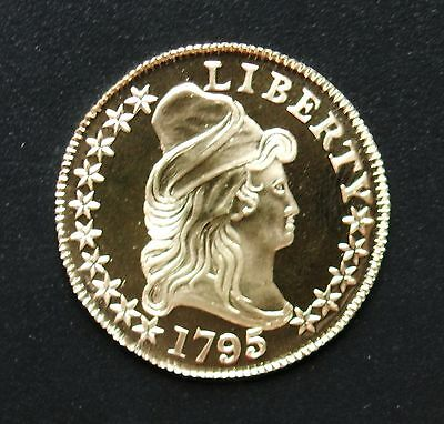 1795 $5 Bust Small Eagle .900 Gold Gallery Mint Museum Copy Coin