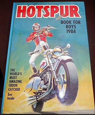 The Hotspur Book For Boys (Annual) 1984 VGC Unclipped