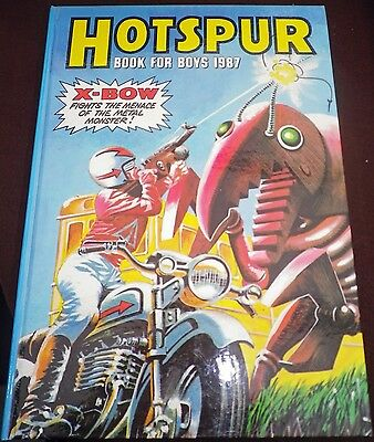 The Hotspur Book For Boys (Annual) 1987 VGC Unclipped