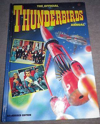 The Official Thunderbirds Annual 1993 Gerry Anderson Excellent Condition