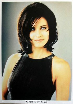 COURTENEY COX portrait Large friends POSTER new rare !!!
