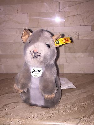 Steiff Gray Pilla Mouse Nwt