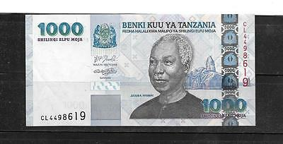 Tanzania #34 2000 Xf Circ 1000 Shilingi Banknote Paper Money Currency Bill Note