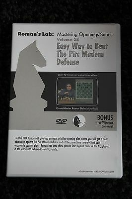 Chess DVD - Roman's Lab Volume 25: Easy Way to Beat the Pirc Modern Defence