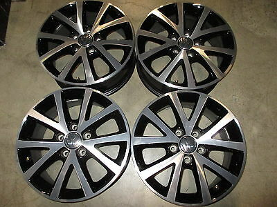 Four 2017 Vw Jetta Factory 16 Wheels Rims Oem 70006 5c0601025bm