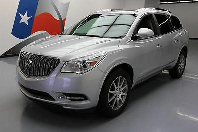 2016 Buick Enclave Leather Sport Utility 4-Door 2016 BUICK ENCLAVE LEATHER DUAL SUNROOF REAR CAM 32K MI #315626 Texas Direct
