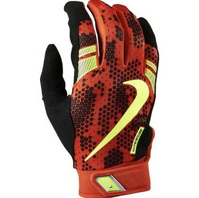Nike Vapor Elite Pro 3.0 Adult Baseball Batting Gloves M L Red Black NWT $50 New