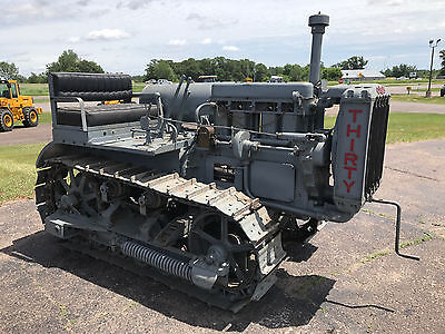 Caterpillar Thirty, Cat 30, Crawler, Antique, Worldwide Shipping