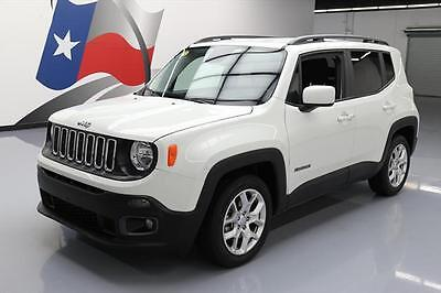 2016 Jeep Renegade  2016 JEEP RENEGADE LATITUDE BLUETOOTH ALLOY WHEELS 19K #C91882 Texas Direct Auto