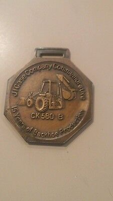 Vintage J.I.Case Backhoe CK 580 B Watch fob