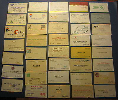 Lot of 39 Old Vintage - RENO NEVADA - BUSINESS / Advertising CARDS