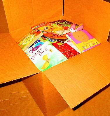 JUMBO Box Mixed Board Book Lot -KIDS/DAYCARE/TODDLER/KIDS/CHILDREN-Sesame,Disney