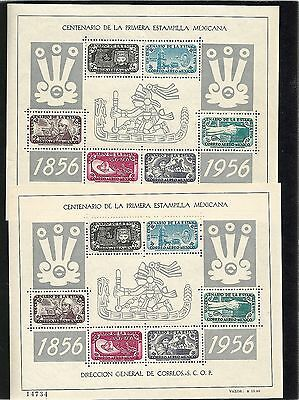 R324) MEXICO C234a MINT NEVER HINGED AZTEC DESIGN SHEET CATALOG $60