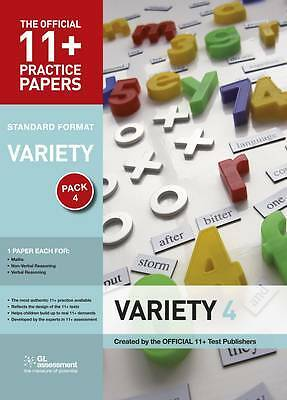 11+ Practice Papers, Variety Pack 4, Standard, GL Assessment