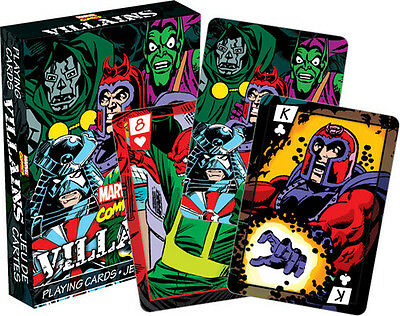 Marvel- Villains Playing Cards Deck - Misc