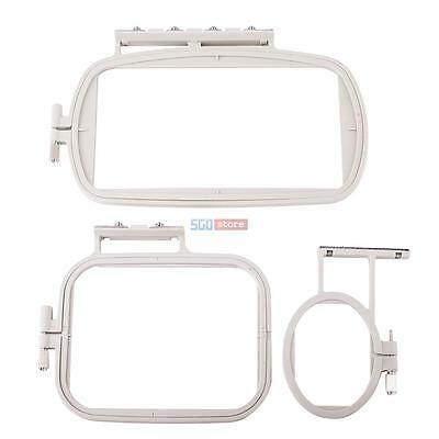 3-Piece Embroidery Hoop Set for Brother Embroidery SE-270D SE-350 SE425 PE-400D