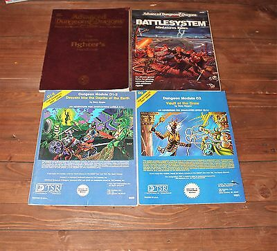 Dungeons and Dragons - Set of 9 Modules & Players Handbook