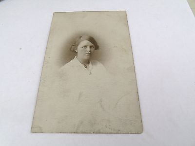 Of Young Lady  Photo Photograph  Postcard