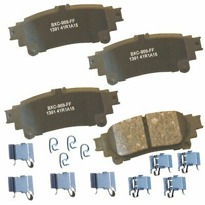 Bendix 2-Wheel Set Brake Pad Sets Rear Driver /& Passenger Side New PBD1194