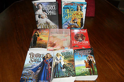 Nice Bundle of Historical Romance by BERTRICE SMALL free s/h CAN