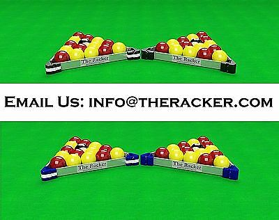 """New Design Pool Triangle """"THE RACKER"""" in Custom Colours Perfect Break Everytime"""