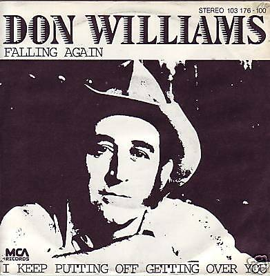 """7"" - DON WILLIAMS - Falling again"