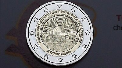 2 euro 2017 CIPRO Pafo Pafos Chypre Cyprus Zibrus Zypern Кипр Κύπρος Πάφος