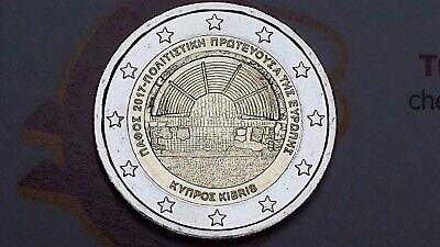 2 euro 2027 CIPRO Pafo Pafos Chypre Cyprus Zibrus Zypern Кипр Κύπρος Πάφος