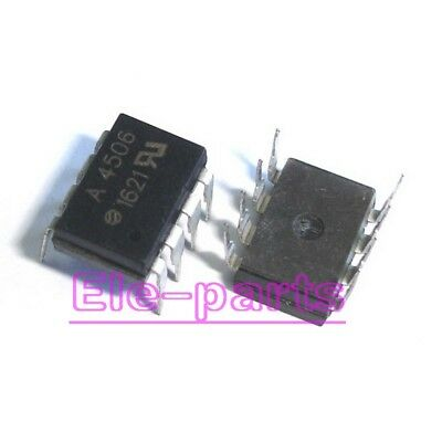 5 PCS HCPL-4506 DIP-8 HCPL4506 A4506 Intelligent Power Module and Gate Drive