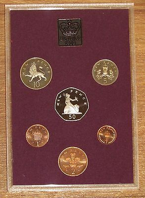 SUPERB ROYAL MINT YEAR PROOF COIN SET 1980 - Birthday or Anniversary Gift