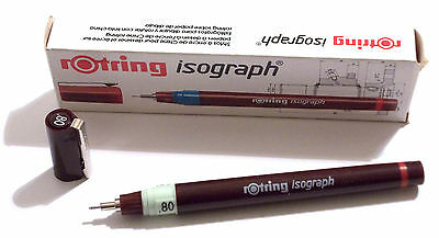 ROTRING ISOGRAPH TECHNICAL DRAWING PENNA A CHINA - 0,80 mm - ART. 151 080