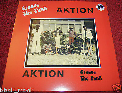 """Aktion """"groove The Funk"""" - Pmg Reissue Lp Afrobeat Funk Psych New & Sealed!!!"""