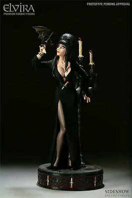Elvira Premium Format Statue Number 1 Brand New Sideshow Collectibles