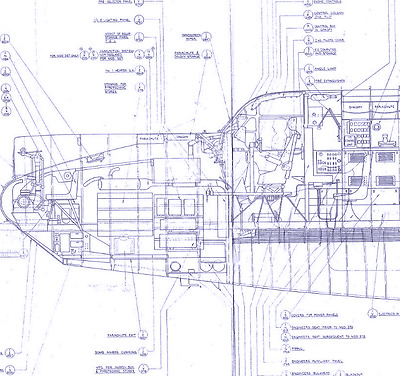 Avro Shackleton 696 MK2 Blueprint Plans period drawings VERY RARE 1950s Archive