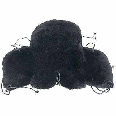 HQ Genuine Merino Sheepskin Western Saddle Seat Saver Fleece Pad FW-9E-BK2004