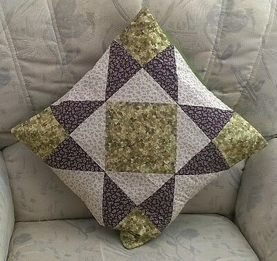 Patchwork Quilting Kit Complete Cushion Kit - Evening Star