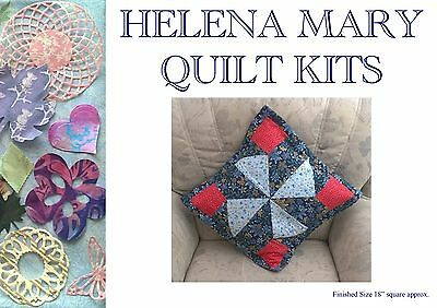 Patchwork Quilting Kit Complete Cushion Kit - Windmill