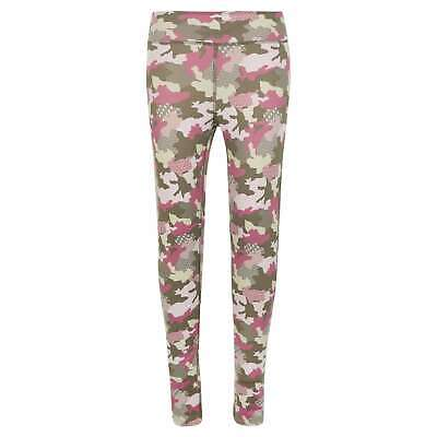 Karrimor Kids XLite Running Tights Pants Trousers Bottoms Junior Girl Drawstring
