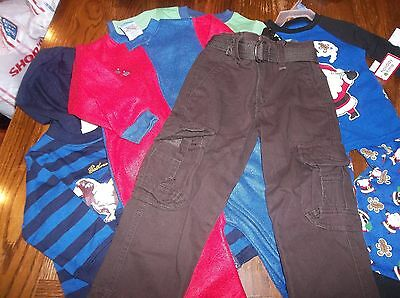 Lot of boy's clothes and pajamas NWT 18-24M