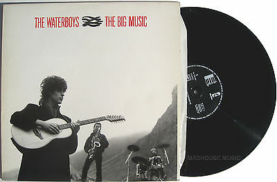 """WATERBOYS 12"""" Big Music FRENCH Mint 1984 Bury My Heart / Earth Only Endures"""