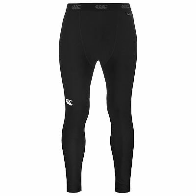 Canterbury Mens Baselayer Leggings Bottoms Compression Armor Thermal Skins