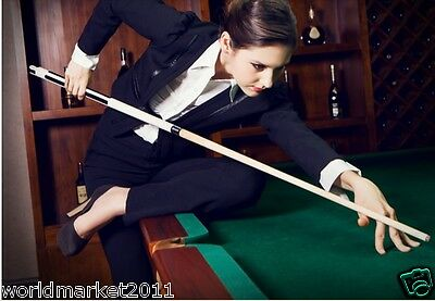 Simple British-Style Sporting Goods Length 149cm Maple Smooth Billiard Cue &$