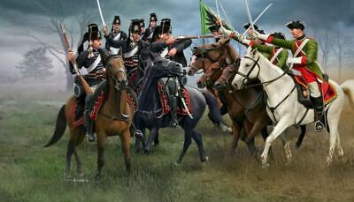 Revell 02453 Seven Years War Austrian Dragoons and Prussian Hussars