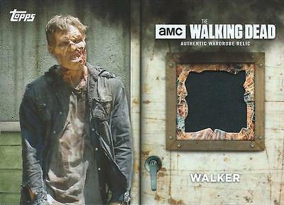 (HCW) 2017 Topps The Walking Dead Season 6 Screen Walker Worn Costume #1