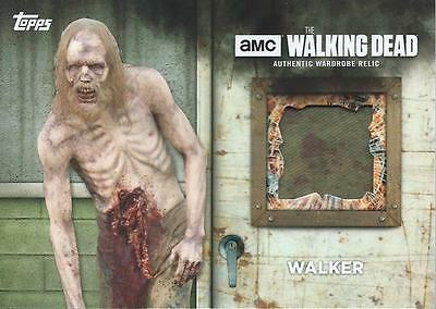 (HCW) 2017 Topps The Walking Dead Season 6 Screen Walker Worn Costume #2