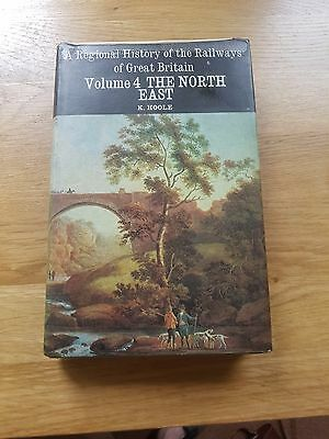 Regional history of the Railways of Great Britain volume 4 NORTH EAST..book..