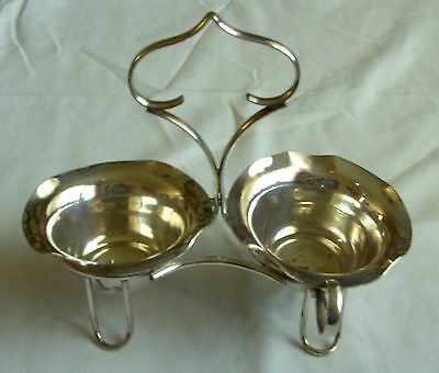 Antique Silver Plated Epns Sauce/gravy Stand