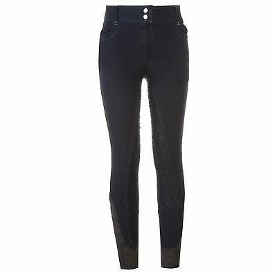 Just Togs Kids Val Silicone Breeches Jodhpurs Pants Trousers Girls Equestrian